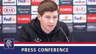PRESS CONFERENCE | Steven Gerrard & Andy Halliday | 12 Dec 2018