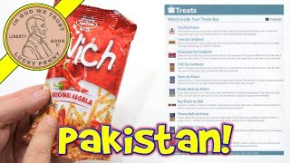 Pakistan Try Treats Subscription Unboxing Review