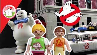 Playmobil Ghostbusters Film deutsch - Familie Hauser im Kino - NEUHEITEN 2017 - Family Stories