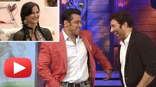 Salman Khan Tells Sunny Deol About Elli And Katrina Similarity! -Bigg Boss 7 Must Watch