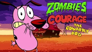 COURAGE THE COWARDLY DOG ZOMBIES (Black Ops 3 Zombies)