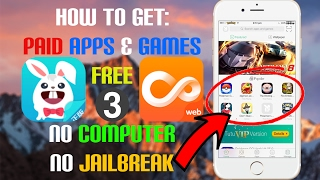 iOS 9/10 - 10.3 How To: Get ANY PAID App/Game FREE (3 METHODS) (NO COMPUTER) (NO JAILBREAK)