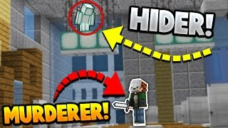 BEST or WORST HIDING SPOT?! | Minecraft MURDER MYSTERY