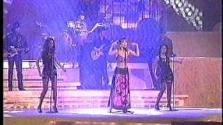 LAURA FLORES. Te Felicito.  PROGRAMUSIC DE LOS 90's.  Interpretacion Magistral.