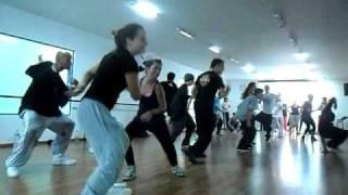 Coreografia Hugo da Casa da Dança de House do Curso de Férias 2011 2