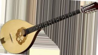 Greek balcanic instrumental music - bouzouki and guitar