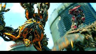 Transformers Age of Extinction  - Bumblebee vs Stinger Scene (1080pHD VO)