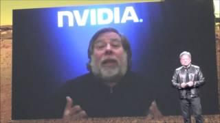 Steve Wozniak jumps into Mars 2030 VR experience at NVIDIA's GTC 2016