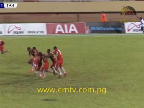 PNG U17 Squad Qualifyfor First Ever Semi-finalin OFC U17 Championship