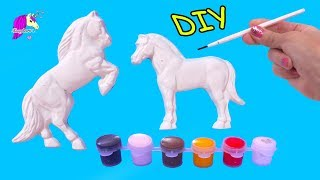 Does It Work? Horse Mold Maker Do It Yourself DIY Craft Paint Kit - Video