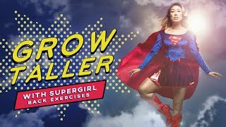Exercises to Grow Taller, Improve Posture & Get Lean | PIIT28 Supergirl inspired workout