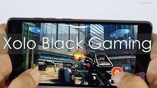 Xolo Black Gaming Review with Popular HD Games