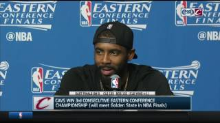 Kyrie Irving postgame press conference | Cavs-Celtics Game 5 | NBA Playoffs