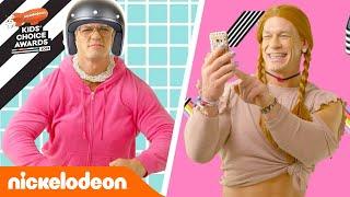 Знакомься, семья Джона Сины! | Kids' Choice Awards 2018| Nickelodeon Россия