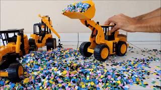 Trator de brinquedo pá carregadeira motoniveladora de brinquedo, carrinho de brinquedo