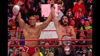 WWE Royal Rumble 2018      Raw Tag Team Champions Seth Rollins & Jason Jordan vs. Cesaro & Sheamus