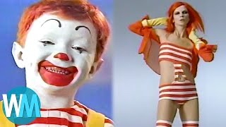 Top 10 Weirdest McDonald's Commercials