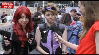 Black Widow & Hawkeye Avengers Cosplay Interview