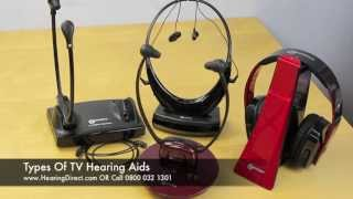 Types Of TV Hearing Aids