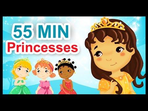 Les petites princesses 55 min de comptines et chansons Titounis