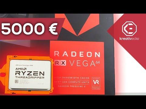 DAS 5000 EURO Threadripper FULL AMD GAMING PC Projekt Meine eigene Höllenmaschine TEIL 1