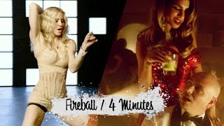 Fireball vs 4 Minutes - Madonna vs Pitbull vs Justin Timberlake (Mashup)