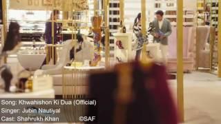 tu dua hai dua khwahishon ki dua (official) by @ jubin nautiyal # shahrukh khan