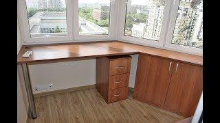 Арсеналстрой - рабочий кабинет мебель на лоджии п-44т (утюг).