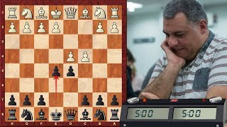 LIVE Blitz #3004 (Speed) Chess Game: Black vs AlonzoMosely in QGD: Albin counter-gambit