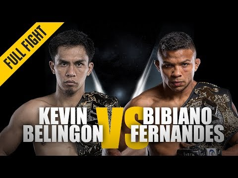 Xxx Mp4 ONE Full Fight Kevin Belingon Vs Bibiano Fernandes Undisputed Champion November 2018 3gp Sex