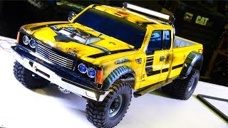 RC ADVENTURES - PROJECT: BUMBLEBEE-ST PT 6 - 4x4 DUALLY Model Pick Up Truck (Tribute to Bumblebee)