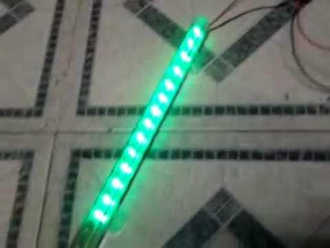 como hacer luces rítmicas para mini componente