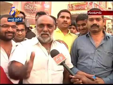 Balakrishna Fans Response in Gutur