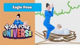 Eagle Pose   Yoga Pose Universe