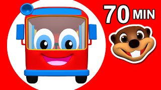 """""""Wheels on the Red Bus"""" 