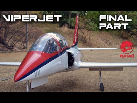 VIPERJET MK2 RC airplane build video by Ramy RC Part 2 FINAL