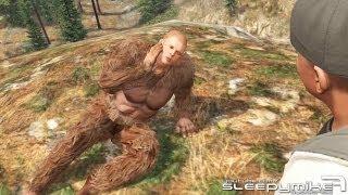 GTA: V - Sasquatch/Bigfoot Mission Easter Egg Solved!