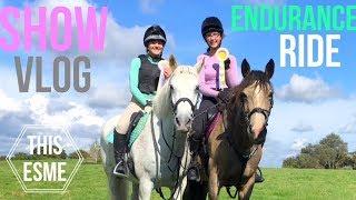 Show Vlog | Endurance Charity Ride | This Esme