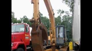 1988 Komatsu Excavator with Grapple Online Auction
