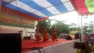 Bondhu Amar Rosiya Khater Upor Bosiya/Dance cover by Sonar Bangla Songghothon