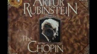 Arthur Rubinstein - Chopin Nocturne Op. 55, No. 1 in F Minor