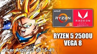 Dragon Ball FighterZ - Ryzen 5 2500u Vega 8 Graphics - Benchmark ACER Aspire 3