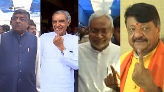 Nitish Kumar, Ravi Shankar Prasad, others cast vote during final phase