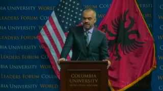 World Leaders Forum: Edi Rama, Prime Minister of the Republic of Albania