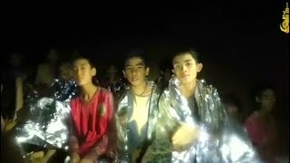 First boys are rescued from Thai cave