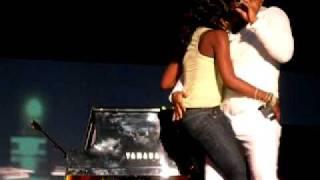 John Legend boner on stage!