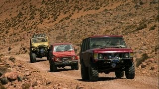 Scaling the Guallatiri volcano  - Now in Full HD - Top Gear - BBC