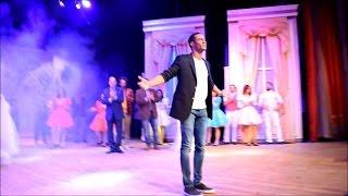 تحية محمد رمضان للجمهور فى العرض السابع / مسرحية اهلا رمضان