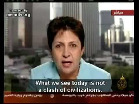 Al Jazeera TV Qatar Interview With Dr.Wafa Sultan about Islam
