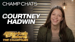 """Courtney Hadwin Chats About Her Original """"Pretty Little Thing"""" - America"""